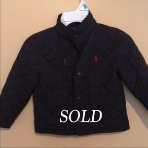 SOLD Polo Jacket SOLD Already